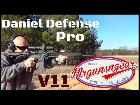 Daniel Defense DDM4 V11 Pro 18'' AR-15 Rifle Review (HD)