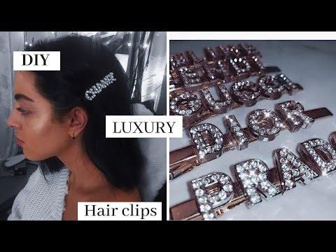 DIY LUXURY HAIR CLIPS !