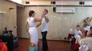 Танец.15 лет совместной жизни.