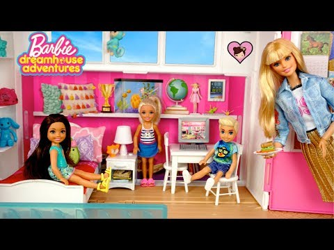 Barbie Chelsea Play Date in the New Dreamhouse Adventures Dollhouse