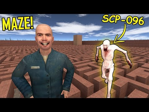 Never Go To Maze With SCP-096