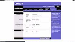 Linksys Firmware Upgrade