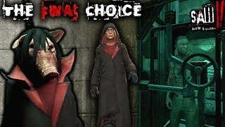 JOIN JIGSAW... OR GO FREE?! THE FINAL CHOICE!! | Saw II: Flesh and Blood | ENDING