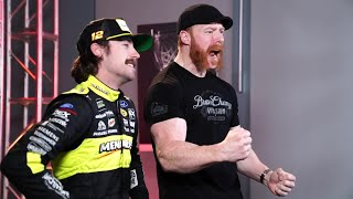 Sheamus teaches NASCAR drivers how to talk trash like Superstars