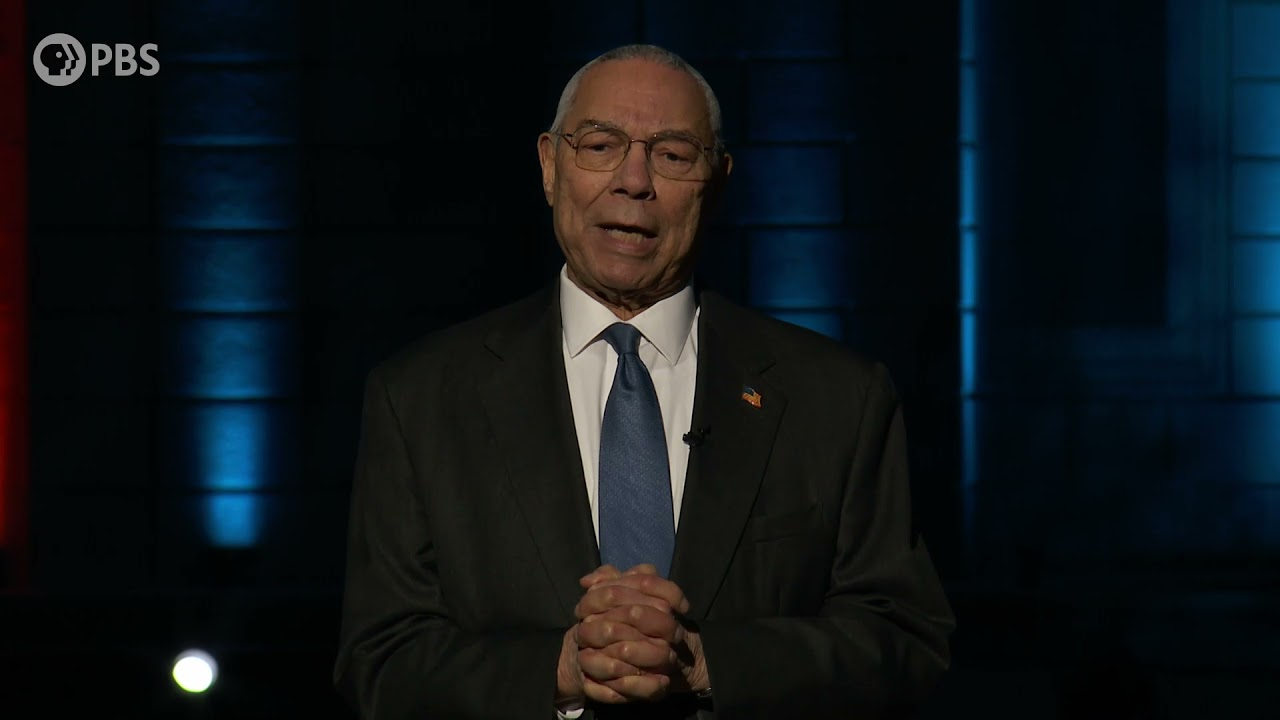 General Colin Powell Honors Women in Military Service