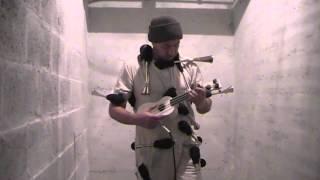 bulb horn guy with bass (modified soprano) ukulele