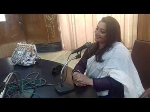 GuL NAZ BANO LIVE SHOW  INTERVIEW RADIO PAKISTAN 101 KARACHI