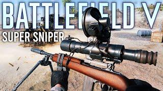 Battlefield 5 Super Sniper