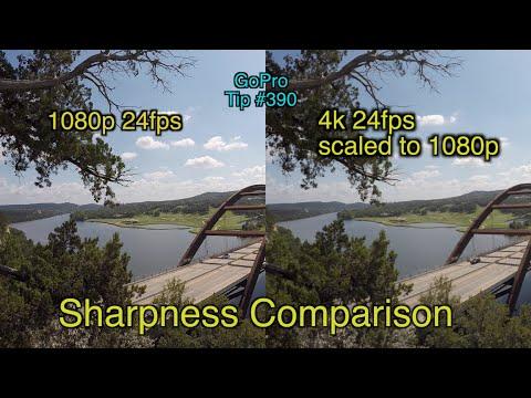 1080p vs upscaled 4k vs 1080p