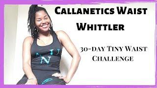 Smaller Waist In 30-DAYS!! Callanetics Waist Whittler DEMO
