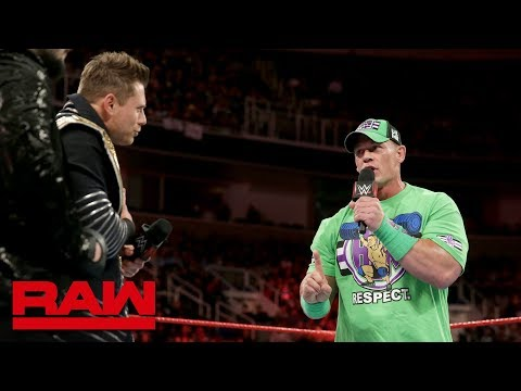 John Cena aims to put down The Beast at WrestleMania: Raw, Feb. 12, 2018