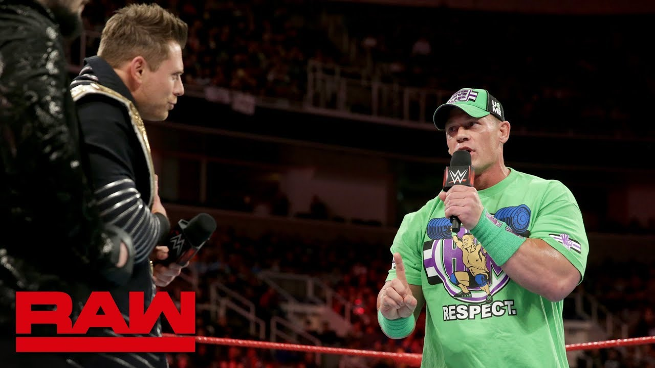 John Cena returns to WWE, sets up WrestleMania matchup with 'The ...