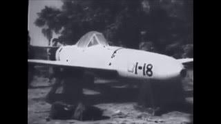 Captured Japanese Kamikaze Suicide Rocket Powered Baka Bomb Yokosuka MXY7 Ohka Cherry Blossom