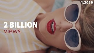 All Music Videos With +2 BILLION VIEWS On Youtube (Jan, 2019) | World Music Charts