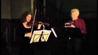 Friedrich Goldmann - 3 Strophen fur Klarinette und Violine