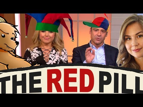 Idiotic Aussie TV hosts Red Pill fail!
