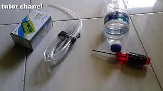 Membuat Pengganti gas LGP yang langka dari bahan bensin / pertalite , part 1