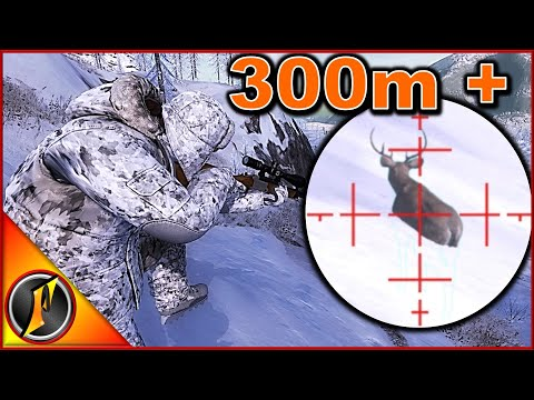 300 + Meter Render | theHunter Classic 2018