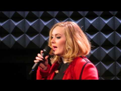Adele sings Someone Like You @ Joe's Pub NYC November 20, 2015