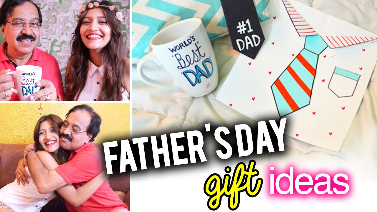 sc 1 st  YouTube & DIY: Easy last minute Fatheru0027s Day Gift Ideas + MEET MY DAD! - YouTube