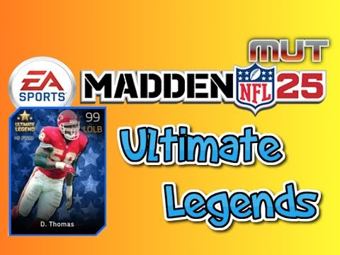 Madden 25 Ultimate Team - Ultimate Legend Derrick Thomas + 50k Elite Pack Opening!