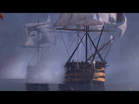 British vs Spanish Navy Machinima Cinematic Total War: EMPIRE – Definitive Edition |
