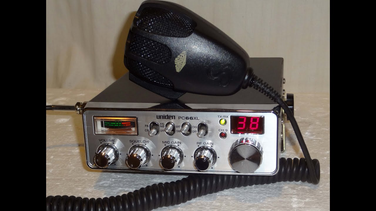 Uniden PC 66XL quality CB transceiver - YouTube
