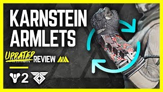 Destiny 2 - Karnstein Armlets NEW VERSION Review - Best Dawnblade exotic?