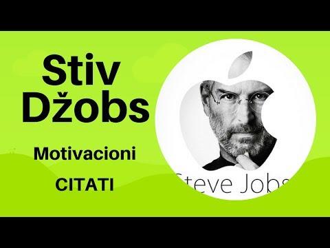 Stiv Džobs Motivacioni Citati Youtube