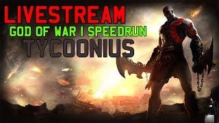GOD OF WAR SPEEDRUN NG+ - TYCOONIUS - SUB 1:30 - to triste pq o truco online é horrível