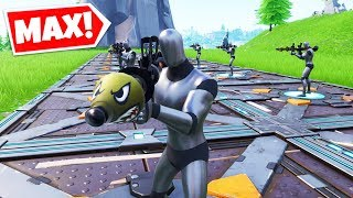 So We Spawned MAX BOTS In Fortnite Creative..