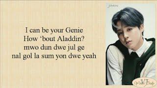 Jimin (BTS 방탄소년단) - Filter (Easy Lyrics)