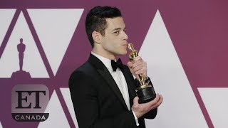 Rami Malek Gets Emotional About His Oscar Win