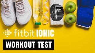 Fitbit Ionic Workout Review [deutsch/english subtitle]