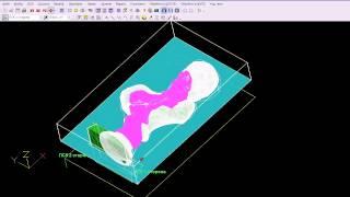 5- чистовая обработка 1 сторона заготовки ГеММа-3D