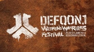 Defqon.1 2013 Weekend Warriors - Hardcore - Goosebumpers #FM07