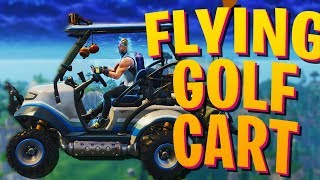 FLYING GOLF CART!    Fortnite: Battle Royale SEASON 5 Gameplay and Funny Moments