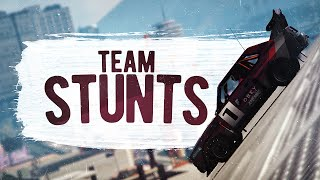 TEAM STUNTS! (GTA 5 Funny Moments)