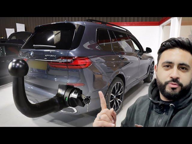 Detachable Towbar & Dedicated Wiring | BMW X7 2020 G07