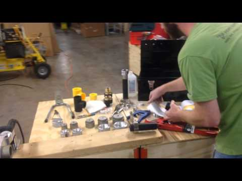 Socket Fusion Welding Tool Demo by Hdpe Supply - YouTube