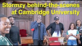 Stormzy behind-the-scenes at Cambridge University | #GoingToCambridge