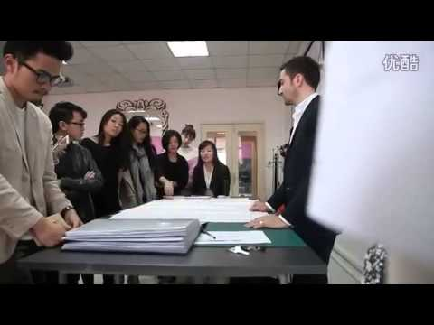 IFA Paris Fashion School French Heritage Pattern Making Demo