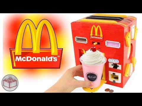 LEGO McDonald's Milkshake Machine ft. Strawberry and Chocolate