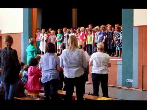 Mauritius-Schule Ebstorf, Grundschule - Einschulung 2013 mit Lied