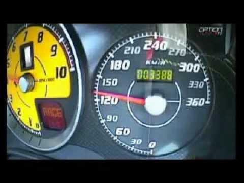 Ferrari F430 Scuderia Top speed! - YouTube