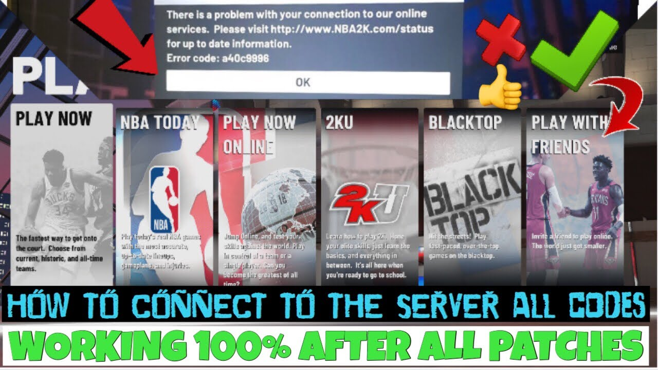 HOW TO FIX ERROR CODES EFEAB30C, 4B538E50, AND MORE ON NBA 2K19
