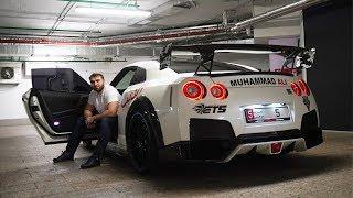 Чеченский ЗВЕРЬ! Nissan GTR Muhammad Ali 1500 лошадиных сил.