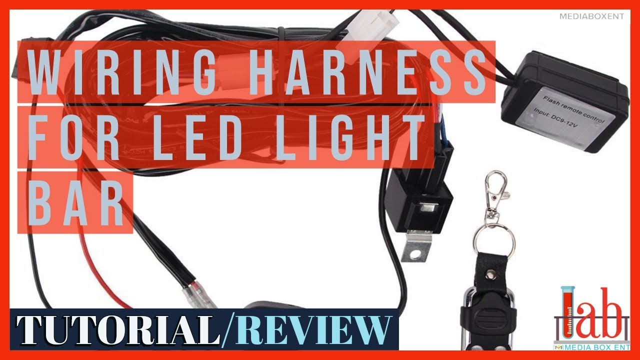 Light Remote Control Wiring Harness for LED Light Bar - YouTubeYouTube