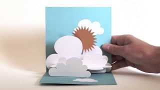 Pop up Cards 'Above the clouds'
