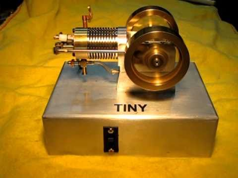 """TINY"""" Small 4 stroke internal combustion engine. - YouTube"""